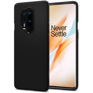 Spigen Liquid Air etui do OnePlus 8 Pro MATTE BLACK