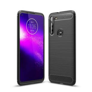 Tech-Protect TPUCarbon etui na telefon Motorola Moto G8 Power BLACK