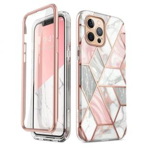 Supcase Cosmo etui do iPhone 12/12 Pro MARBLE