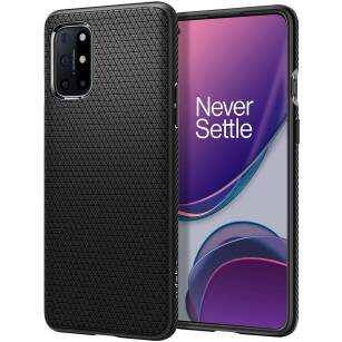 Spigen Liquid Air etui do OnePlus 8T MATTE BLACK