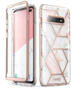 Supcase Cosmo etui do Samsung Galaxy S10+ Plus MARBLE