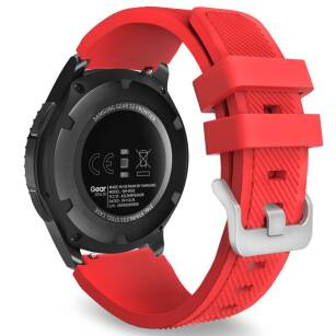 TECH-PROTECT SMOOTHBAND pasek SAMSUNG GALAXY WATCH 46MM RED