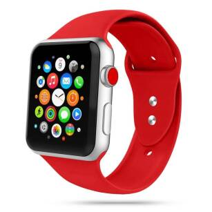 Tech-Protect ICONBAND sportowy pasek do Apple Watch (38/40mm) RED