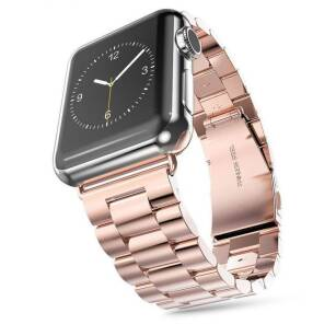 Tech-Protect STAINLESS stalowa bransoleta do Apple Watch (42/44mm) ROSE GOLD