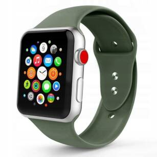 Tech-Protect ICONBAND sportowy pasek do Apple Watch (42/44mm) ARMY GREEN