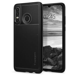 Spigen Rugged Armor etui do Huawei P30 Lite BLACK