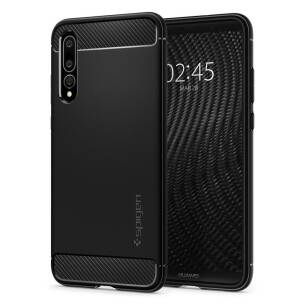 Spigen Rugged Armor etui do Huawei P20 Pro BLACK