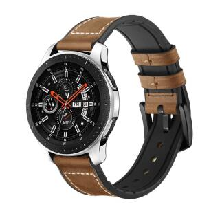 TECH-PROTECT OSOBAND skórzany pasek SAMSUNG GALAXY WATCH 46MM VINTAGE BROWN