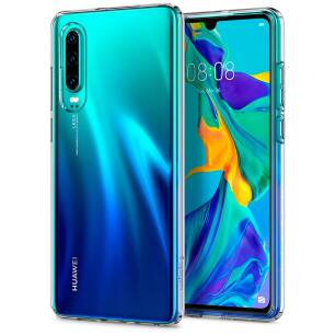 Spigen Liquid Crystal etui do Huawei P30 CRYSTAL CLEAR